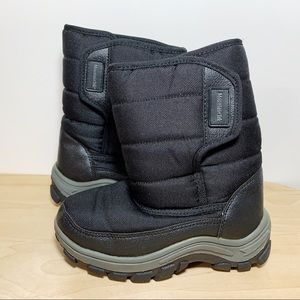 Mountain Tek Black Snow Boots